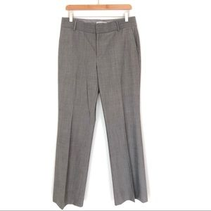 Banana Republic Gray Trouser The Martin Fit Size 8